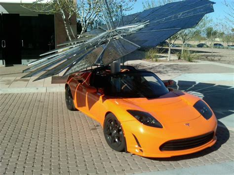 Tesla Solar Powered Car Lotus Mobile A Portable Affordable Solar Charging Solution