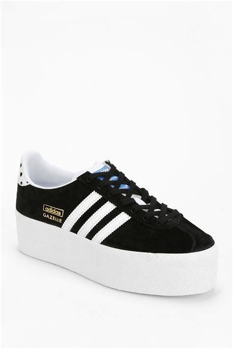 sneaker platforms adidas gazelle platform sneaker in black lyst