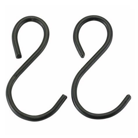 Black S Hooks For Pot Racks pot rack hooks and chains kitchensource