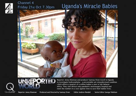 Miracle Babies Channel 5 Cure Uganda Highlighted On Uk Channel 4 Unreported World Cure
