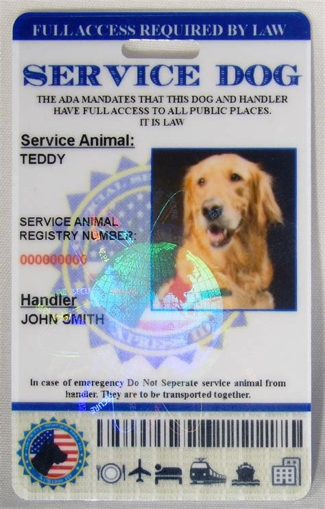 service id service id card free access to animal registry xpressid