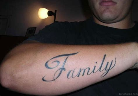 family tattoo 51 pretty family wording tattoos on wrist