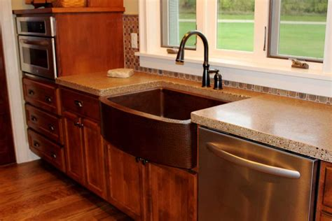 concrete countertops kitchen kitchen concrete countertops prices decosee