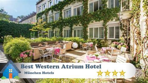 best western atrium best western atrium hotel m 252 nchen hotels germany