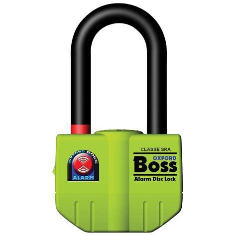 Alarm Padlock bigboss alarm disc lock 16mm oxford products