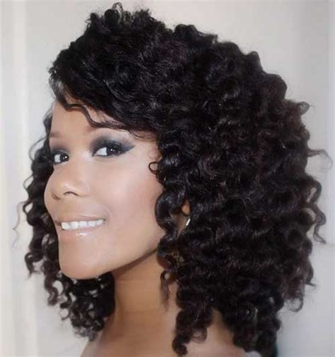 hairstyles for thick natural hair 15 short thick curly hair short hairstyles haircuts 2017