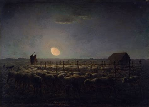 angelus paint wiki file jean fran 231 ois millet the sheepfold moonlight