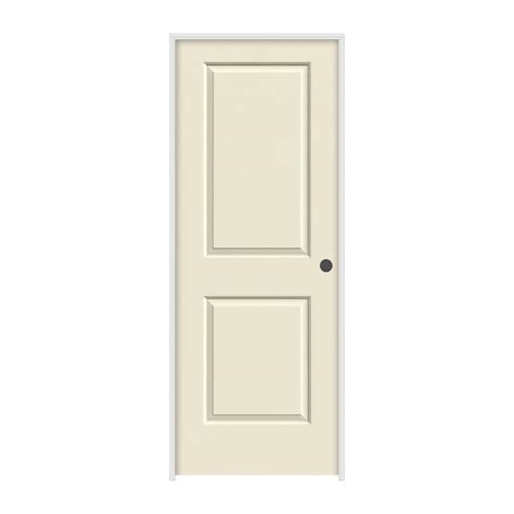 prehung interior doors home depot jeld wen 30 in x 80 in smooth 2 panel primed molded