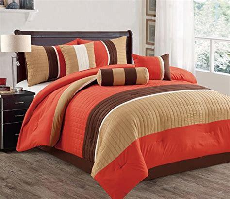 orange comforter sets queen jbff bed in bag microfiber luxury comforter set queen