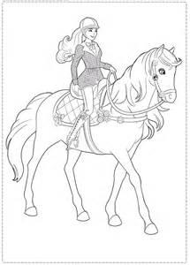 barbie il cavallo leggendario da colorare 3620