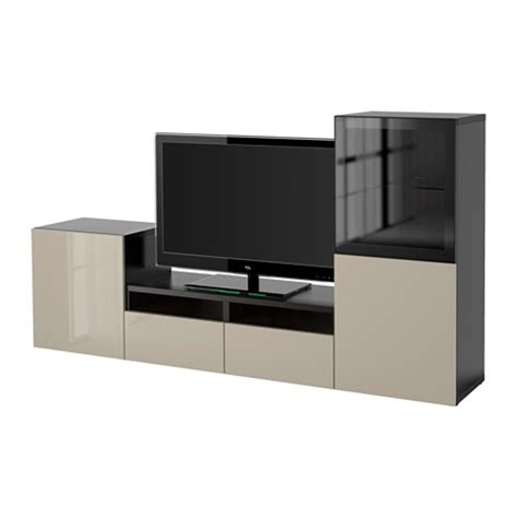 besta tv kombi best 197 tv f 246 rvaring kombination glasd 246 rrar ikea