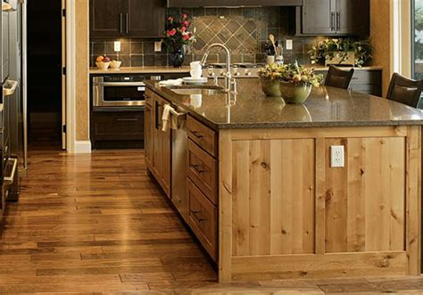 rustic kitchen island home decoration