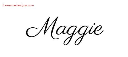 maggie archives free name designs