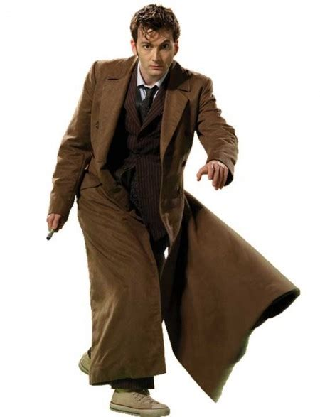 david tennant purple suit 10th doctor coat david tennant dr who brown trench coat