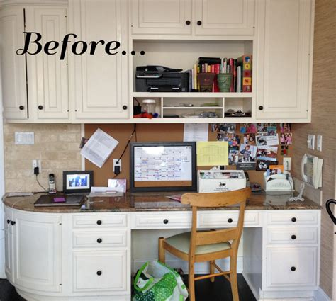 Kitchen Bulletin Board Ideas by Before Amp After Kitchen Command Center Home I Love You