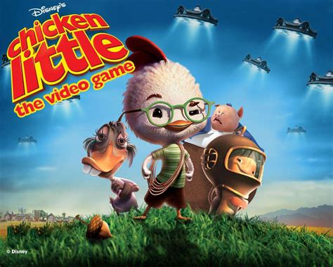 chicken  galactic traveler  disney game