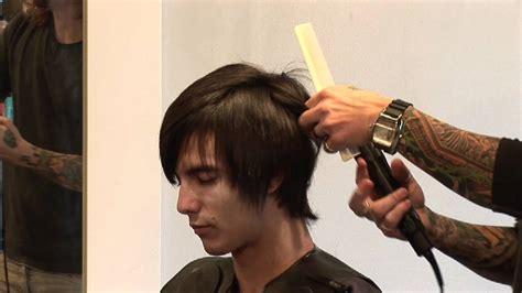 mens hair rebonding hair care for men how to flat iron men s hair youtube