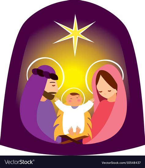 baby jesus manger baby jesus in a manger 2 royalty free vector image