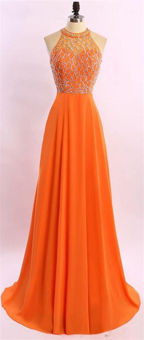 Dress Wanita Orange 25 best ideas about orange prom dresses on
