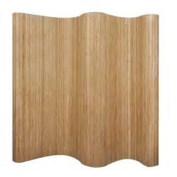 Bamboo Room Divider - bambus raumteiler natural www vidaxl at