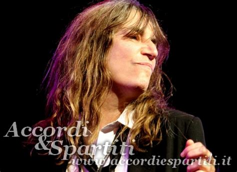 because the testo because the patti smith accordi e spartiti