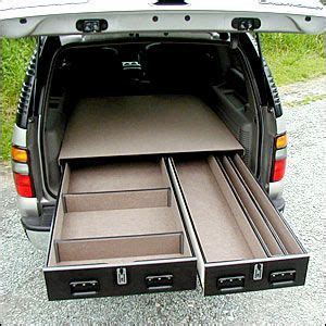 suv cargo box drawer truck vault offset drawer units hijet