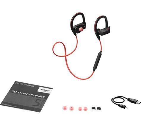 Headset Bluetooth Jabra Pace Sport jabra sport pace wireless bluetooth headphones deals pc world