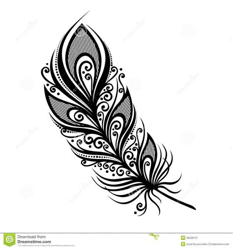 indian tribal feather outline clipart clipart suggest