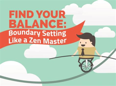 Mba Io Psychology by Find Your Balance Boundary Setting Like A Zen Master