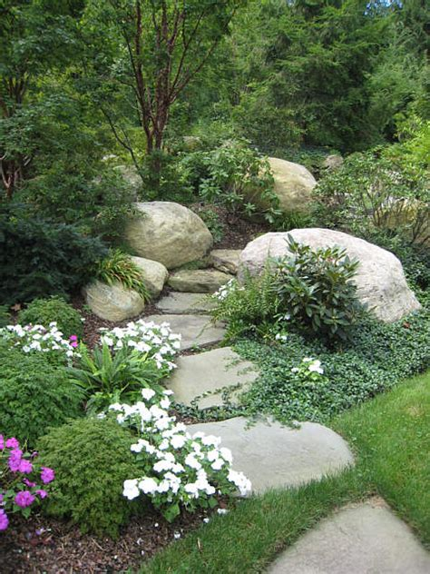 landscaping with boulders mr adam tuscan style backyard landscaping pictures 11 weeks