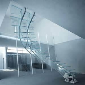 scale elicoidali per interni prezzi scale in vetro e acciaio scale
