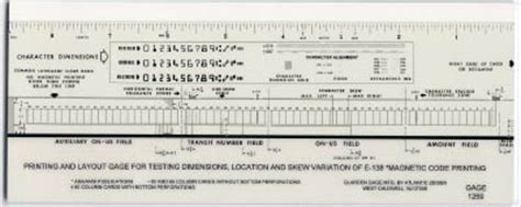Micr Check Gauge Template Micr Check Template