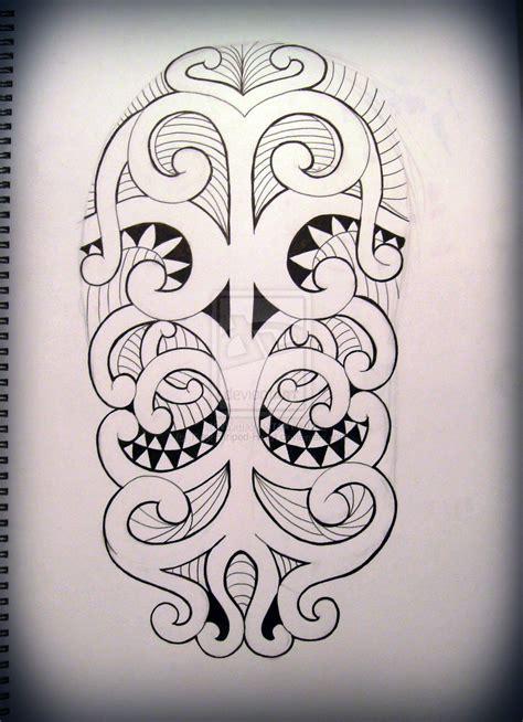 half sleeve tribal tattoos drawings tribal half sleeve design by tiger striped on