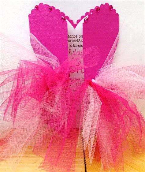 pin the tutu on the ballerina template pink ballerina tutu invitations by icingontheparty on etsy