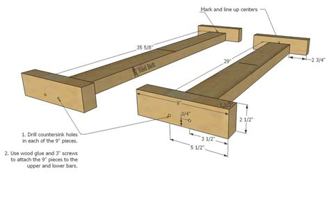 2 x 4 bench plans build an easy 2x4 double x bench her tool belt