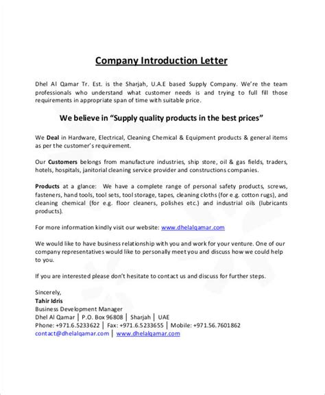 Introduction Letter Of Information Technology Company Formal Letter Sle Template 70 Free Word Pdf Documents Free Premium Templates
