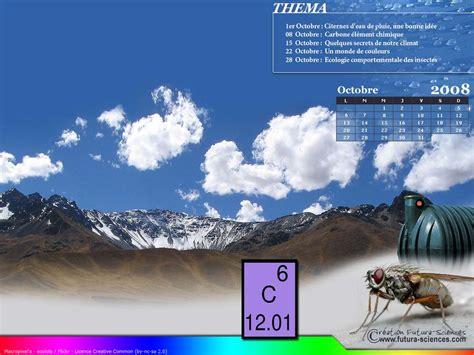 fond d 233 cran calendrier octobre 2008