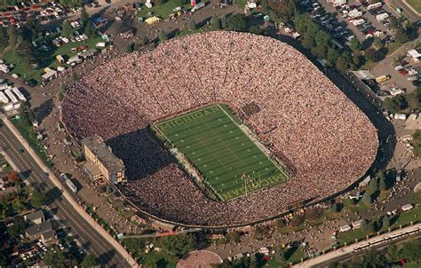 how many seats in the big house the 7 most unique football fields in america
