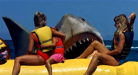 jaws banana boat attack jaws the revenge 1987 review basementrejects