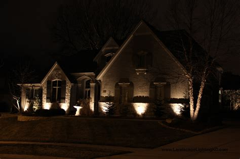 Outdoor Lighting Kansas City More January Landscape Lighting In Leawood Ks Landscape Lighting Kansas City
