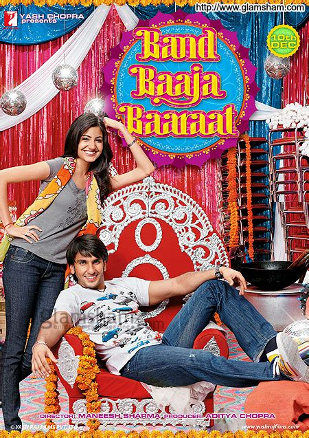 film barat genre comedy band baaja baaraat movie poster 1 glamsham com