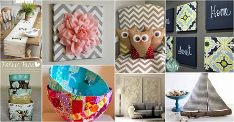 home decor fabric diy fabric home decor crafts that will impress you