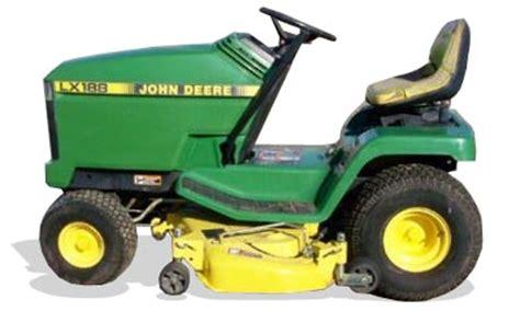 tractordata.com john deere lx172 tractor information