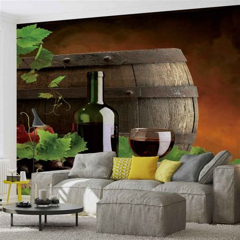 Wine Wall Murals wine wall paper mural buy at europosters