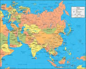 Where Is Asia On The Map by The Map Of Asia New Calendar Template Site