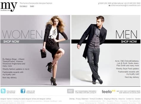 style clothing websites 35 inspirational fashion website designs webdesigner depot