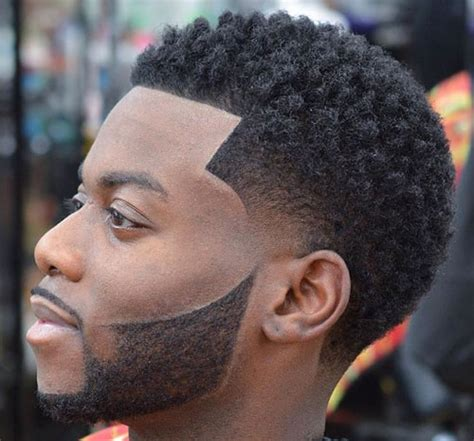 temper fade haircut with and afro top 27 hairstyles for black men