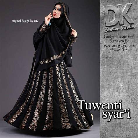 Gamis Syar I Muslimah model baju muslim gamis syar i untuk lebaran terbaru saat