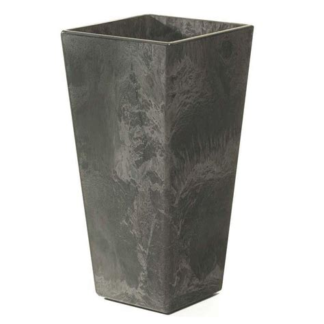 home decorators collection ella 11 in square black resin