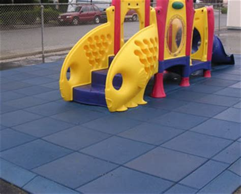 """""""Eco Safety"""" Rubber Playground Surfacing"""